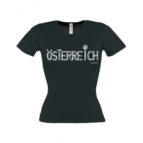 """Damen T-Shirt """"Österreich"""" ...in 3 Farben"""