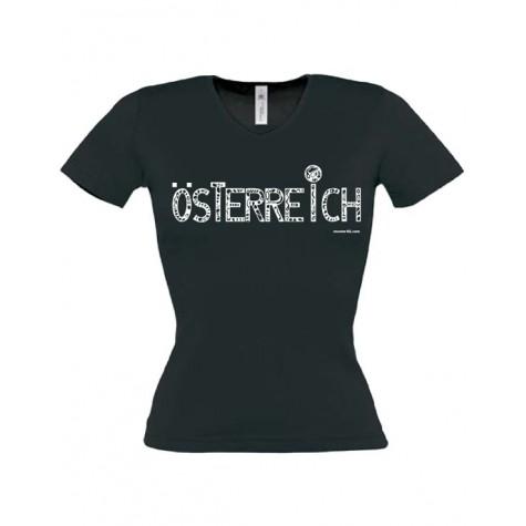 "Lady's T-Shirt ""Austria"" ...in 3 colours"