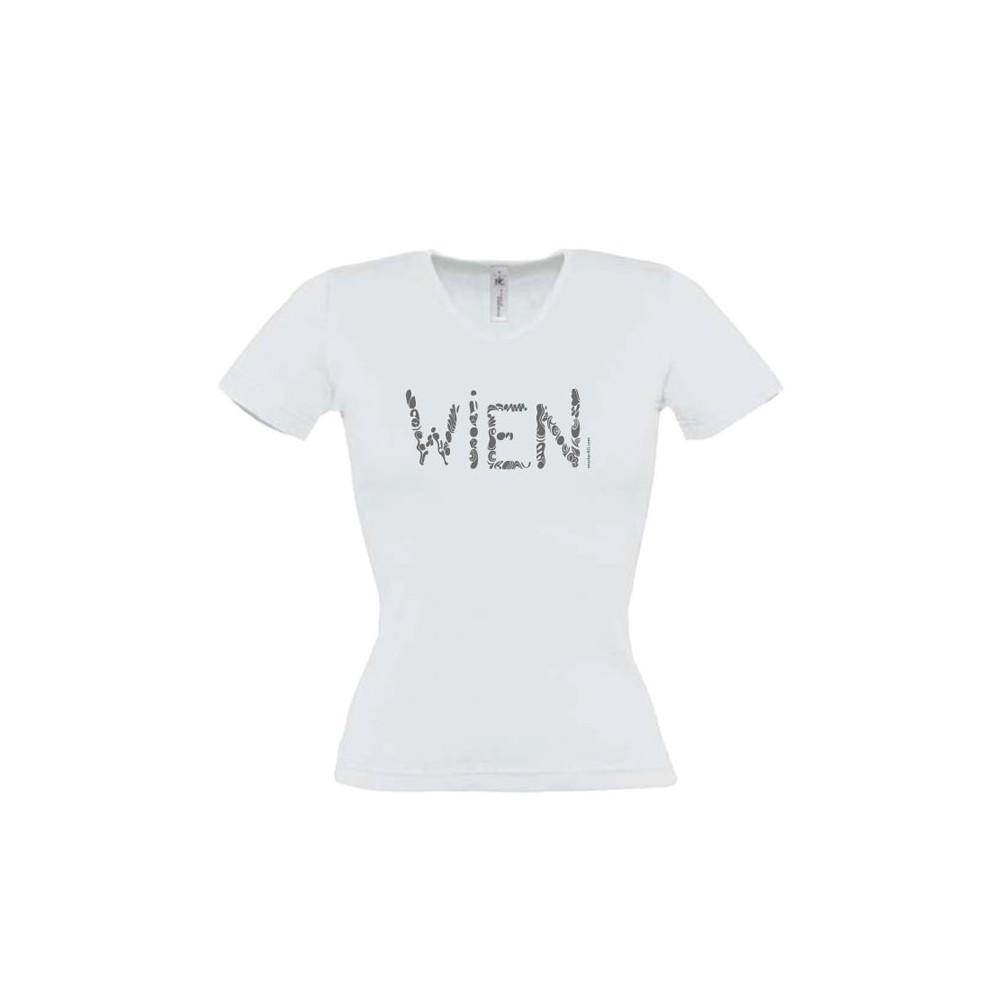 "Österreich-Motive Damen T-Shirt ""Wien"""
