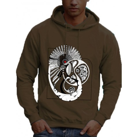"Men's sweatshirt ""patternworld"""